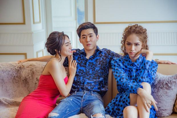 Ôm bụng cười khi xem Hương Giang xử đẹp bạn thân phá đám của người yêu đầy lầy lội trong MV mới - Ảnh 3.