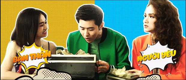 Ôm bụng cười khi xem Hương Giang xử đẹp bạn thân phá đám của người yêu đầy lầy lội trong MV mới - Ảnh 2.
