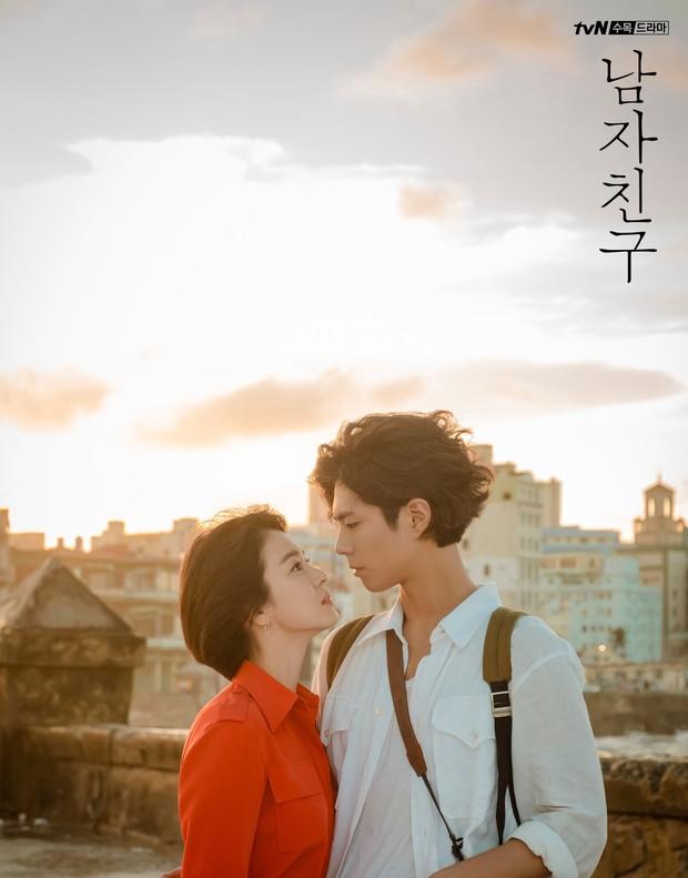 Park Bo Gum bị đồn phim giả tình thật với Song Hye Kyo, loạt khoảnh khắc ngọt lịm Encounter lại bị đào lên! - Ảnh 2.