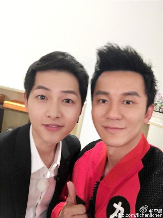 Bức ảnh chung của Song Joong Ki - Lý Thần bất ngờ hot trở lại sau tin chia tay tình yêu - Ảnh 3.