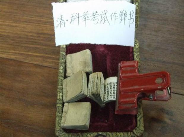 Chiêu trò gian lận thi cử ở Trung Quốc xưa: Vải thưa nhưng che được mắt Thánh - Ảnh 4.