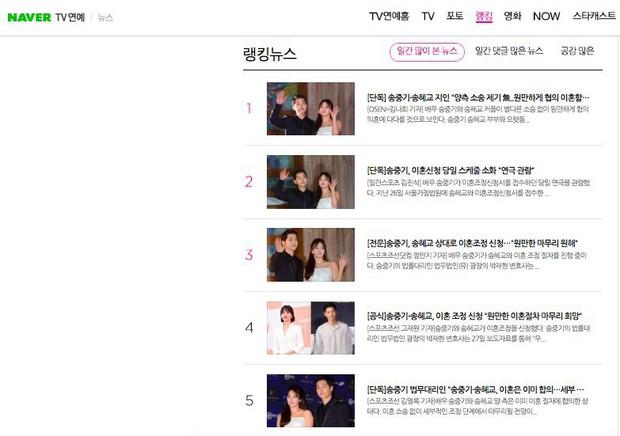 Sức công phá của từ khoá Song Joong Ki - Song Hye Kyo ly hôn với con số giật mình khiến truyền thông châu Á sôi sục - Ảnh 3.