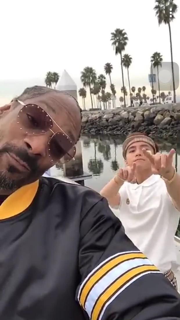 """Trước ngày """"Hãy Trao Cho Anh"""" ra mắt, cùng nhìn lại những lần Snoop Dogg bắt tay những nghệ sĩ châu Á siêu đình đám - Ảnh 9."""