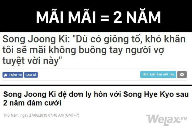 Song Joong Ki và Song Hye Kyo chia tay, cư dân mạng nhao nhao khẳng định: Đã Song - Song thì làm gì có chuyện giao nhau! - Ảnh 5.
