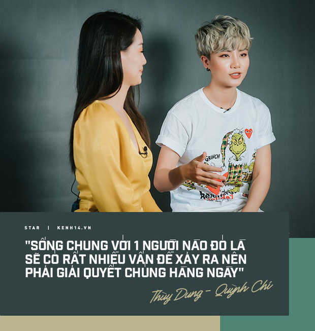 Quỳnh Chi - Thùy Dung lần đầu trải lòng về tin đồn yêu đồng tính, dọn về sống thử sau 5 năm thân thiết - Ảnh 2.