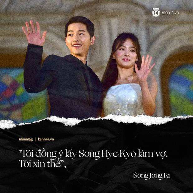 Song Joong Ki và Song Hye Kyo: Bao câu nói ngôn tình không bằng 1 tờ đơn ly dị, cuộc tình cổ tích cuồng nhiệt nào thì khi kết thúc vẫn tàn nhẫn như nhau - Ảnh 1.