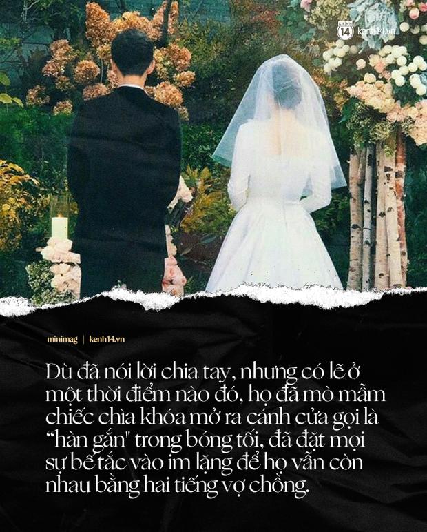 Song Joong Ki và Song Hye Kyo: Bao câu nói ngôn tình không bằng 1 tờ đơn ly dị, cuộc tình cổ tích cuồng nhiệt nào thì khi kết thúc vẫn tàn nhẫn như nhau - Ảnh 9.