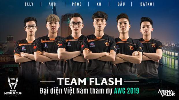 AWC 2019 ngày 2: Team Flash tung trailer như phim hành động trước giờ xuất trận, thách thức cao thủ thế giới! - Ảnh 9.
