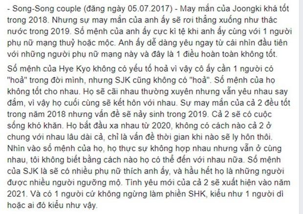 Rùng mình hàng loạt lời tiên tri chính xác về sao Hàn: Vụ chấn động của YG và Song Song trúng phóc, số 5 sốc nhất - Ảnh 2.