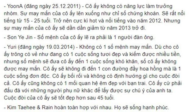 Rùng mình hàng loạt lời tiên tri chính xác về sao Hàn: Vụ chấn động của YG và Song Song trúng phóc, số 5 sốc nhất - Ảnh 14.
