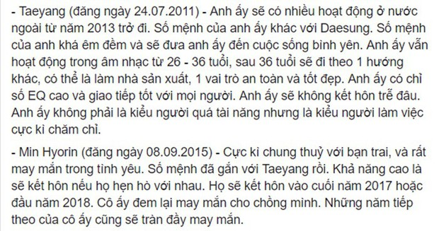 Rùng mình hàng loạt lời tiên tri chính xác về sao Hàn: Vụ chấn động của YG và Song Song trúng phóc, số 5 sốc nhất - Ảnh 3.