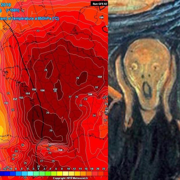 Nhìn vào bản đồ nhiệt của châu Âu lúc này là đủ để ai cũng run sợ: Giống hệt chiếc đầu lâu tử thần - Ảnh 3.