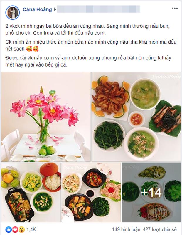 Ngày nào cũng nấu mâm cơm vừa đẹp vừa ngon, vợ trẻ khiến chồng có bận rộn mấy cũng muốn về sớm ăn cơm - Ảnh 1.