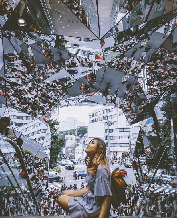 Vòm kính ảo diệu tại trung tâm thương mại nổi tiếng ở Tokyo đang là background sống ảo chiếm trọn mặt trận Instagram - Ảnh 10.