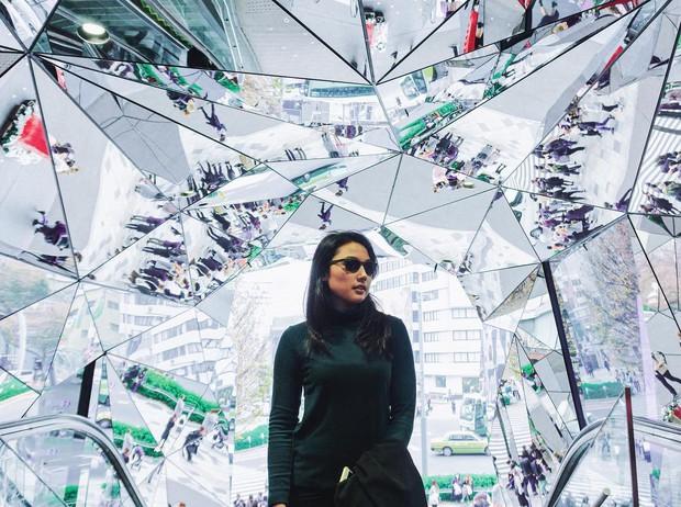 Vòm kính ảo diệu tại trung tâm thương mại nổi tiếng ở Tokyo đang là background sống ảo chiếm trọn mặt trận Instagram - Ảnh 13.
