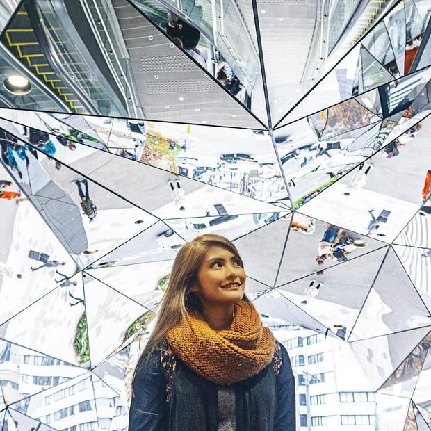 Vòm kính ảo diệu tại trung tâm thương mại nổi tiếng ở Tokyo đang là background sống ảo chiếm trọn mặt trận Instagram - Ảnh 14.