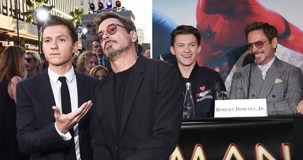 Nhện nhí Tom Holland lại hớ mồm lộ danh tính Cha đỡ đầu Marvel, ai nghe xong cũng bó tay - Ảnh 2.