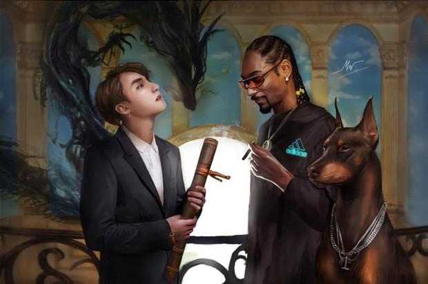 Sơn Tùng đăng ảnh cùng Snoop Dogg, fan lại sốt sắng vì không thể đợi thêm ngày MV kết hợp ra mắt để cày view - Ảnh 3.