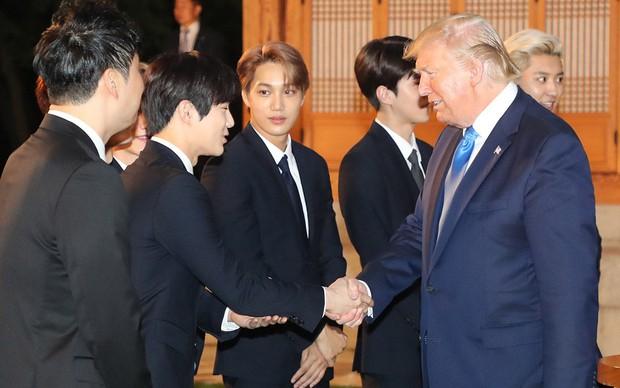 EXO gây náo loạn khi đến dự tiệc cùng Tổng thống Mỹ và Tổng thống Hàn tại Nhà Xanh: Visual quá đỉnh! - Ảnh 5.