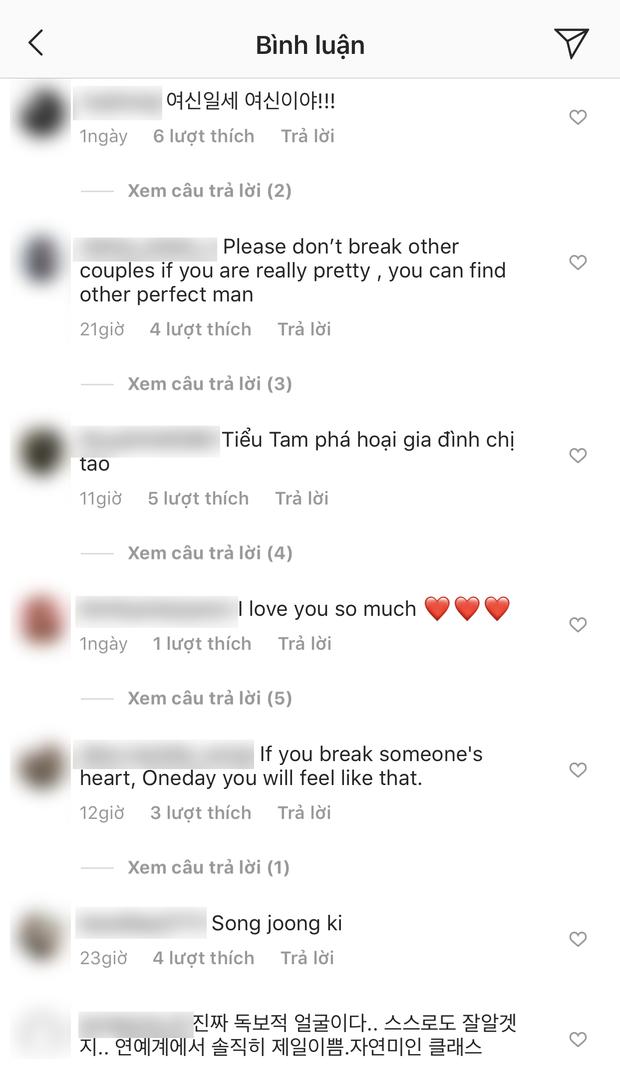 Bị đồn là tiểu tam xen giữa Song Song, mỹ nhân Kim Ok Bin có động thái suốt 2 ngày qua và bị fan Việt khủng bố - Ảnh 5.