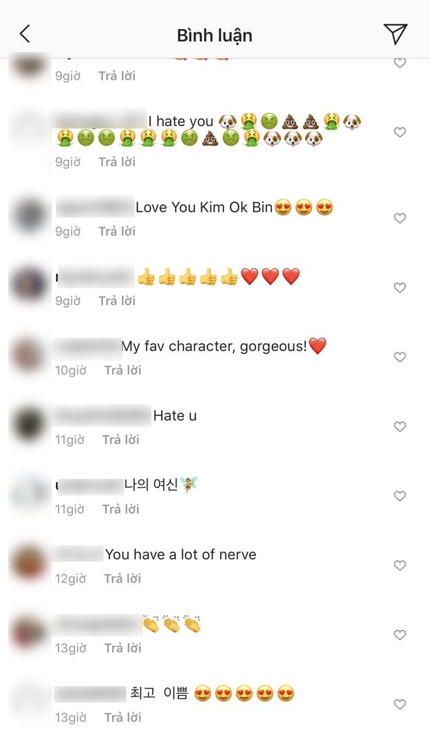 Bị đồn là tiểu tam xen giữa Song Song, mỹ nhân Kim Ok Bin có động thái suốt 2 ngày qua và bị fan Việt khủng bố - Ảnh 4.
