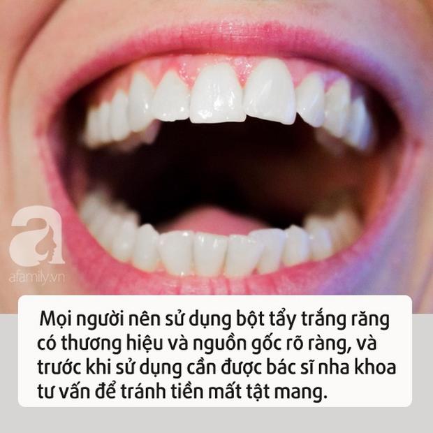 Cô gái sử dụng bột tẩy trắng răng không rõ nguồn gốc khiến cả gương mặt sưng phù - Ảnh 2.
