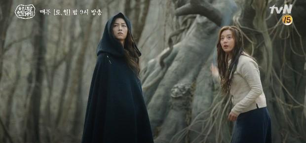 Mặc kệ biến động hôn nhân cùng sự xuất hiện của cameo Nichkhun, Song Joong Ki vẫn một mình cân hai vai cực xịn trong tập 9 Arthdal Niên Sử Kí! - Ảnh 14.