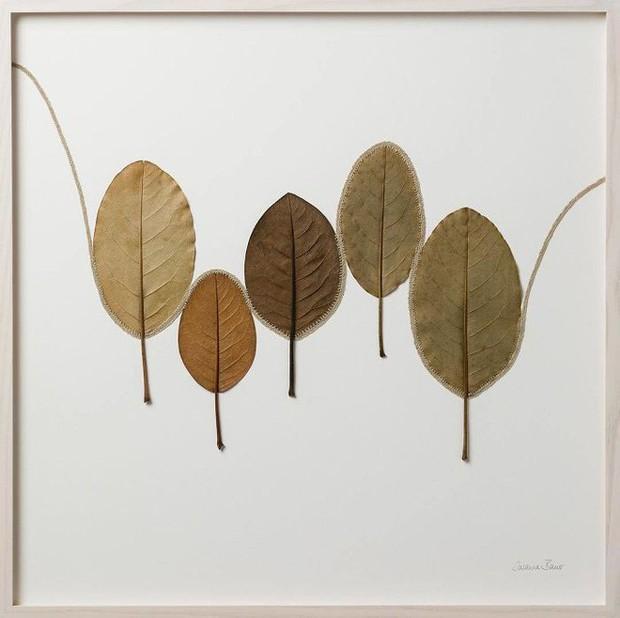 23 tác phẩm độc đáo cho thấy lá cây cũng có thể trở thành tuyệt tác nghệ thuật - Ảnh 17.