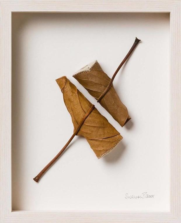 23 tác phẩm độc đáo cho thấy lá cây cũng có thể trở thành tuyệt tác nghệ thuật - Ảnh 20.