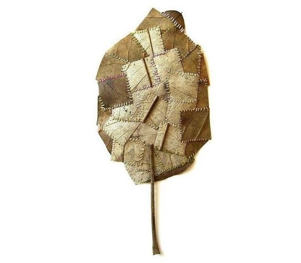23 tác phẩm độc đáo cho thấy lá cây cũng có thể trở thành tuyệt tác nghệ thuật - Ảnh 23.