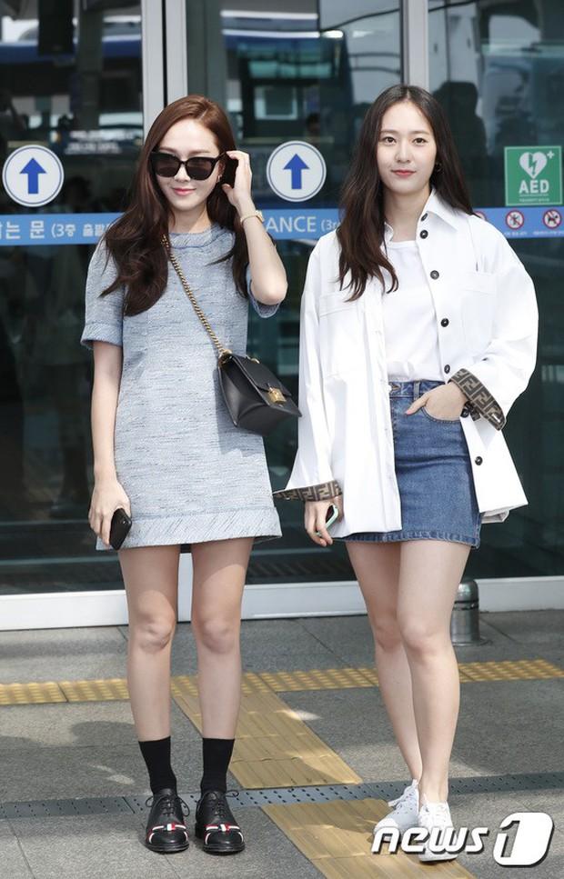 Qua thời đỉnh cao, cặp chị em Jessica – Krystal diện đồ hiệu nhưng có còn sang chảnh như xưa? - Ảnh 4.