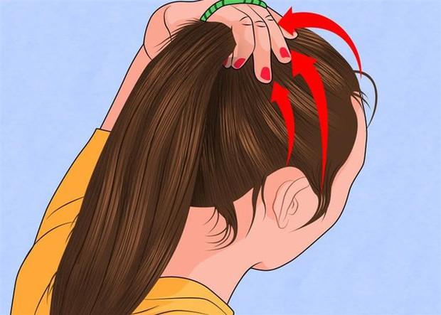 Con gái nên sửa ngay những thói quen buộc tóc kiểu này để ngăn ngừa nguy cơ bị hói như bà già - Ảnh 2.