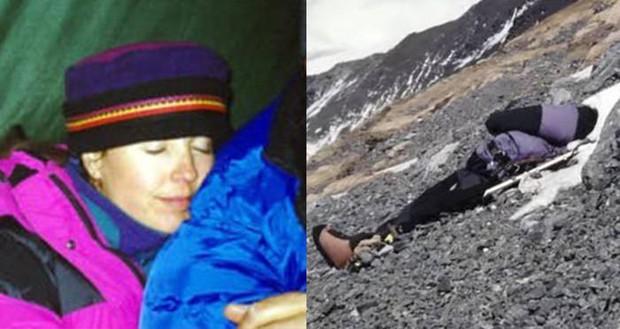 Những bức hình ám ảnh nhất trên đường chinh phục đỉnh Everest: Từ các cột mốc thi thể đến sự thật kinh hoàng hiện ra khi tuyết tan - Ảnh 3.