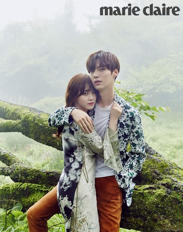 Chỉ bằng một hành động tưởng không liên quan, nàng cỏ Goo Hye Sun đã làm rõ tin đồn trục trặc với chồng trẻ - Ảnh 1.