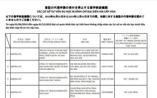 Thêm 11 cơ sở tư vấn du học ở Việt Nam bị Nhật Bản chặn đơn xin visa từ 1-6 - Ảnh 1.