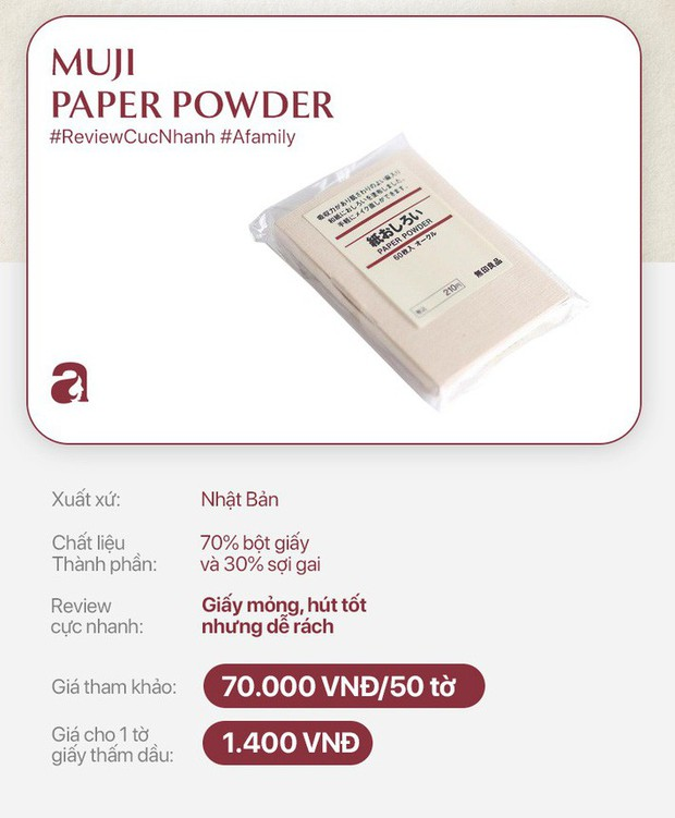 Review cực nhanh 10 loại giấy thấm dầu: Có loại tưởng rẻ nhưng tính ra lại đắt - Ảnh 8.