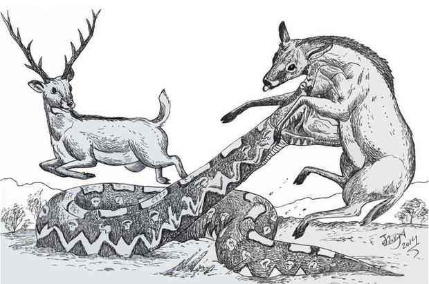 Loài động vật cổ đại nào đáng sợ nhất nếu chúng còn tồn tại đến ngày nay? - Ảnh 10.