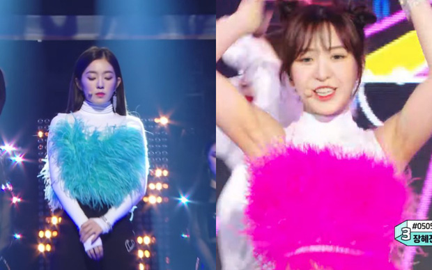 Red Velvet vượt BLACKPINK, TWICE cũng không khiến fan vui vì Wendy bị dí áo như cây phất trần từ Irene - Ảnh 3.