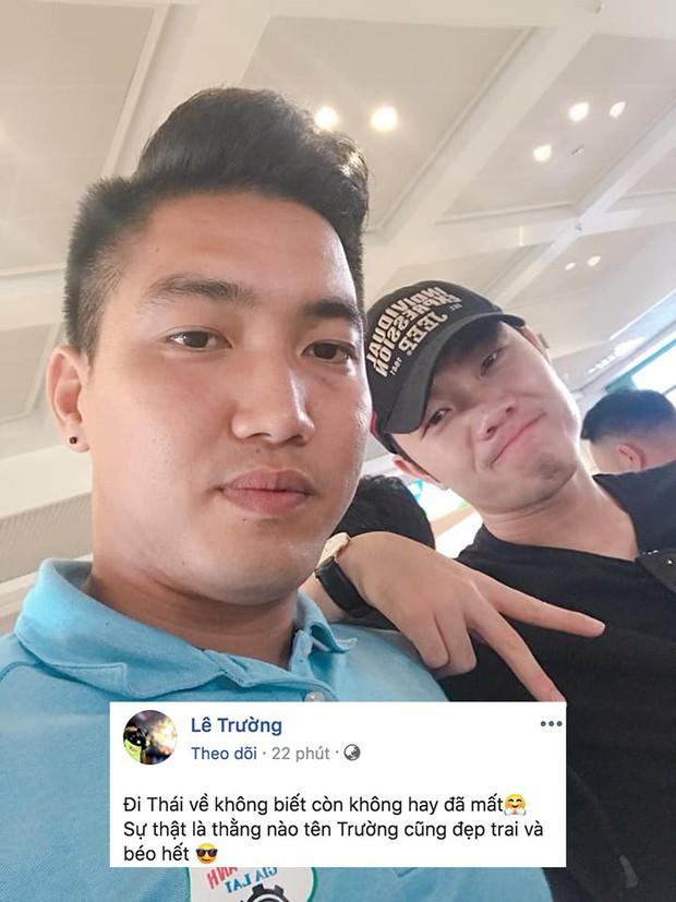 Đồng đội nhận xét Xuân Trường béo và đẹp trai sau khi trở về từ Thái Lan - Ảnh 1.