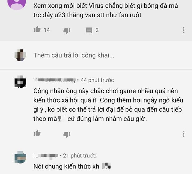 ViruSs bị bóc mẽ nói dối khi thừa nhận không xem bóng đá tại Nhanh như chớp - Ảnh 6.