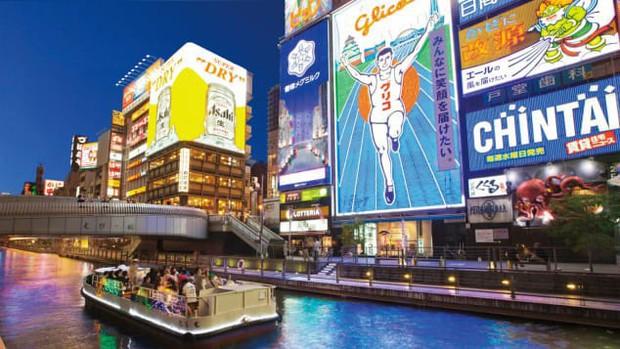 Là điểm đến du lịch hàng đầu châu Á, Osaka Nhật Bản chứa đựng vô vàn điều thú vị mà du khách lần đầu đặt chân đến không nên bỏ qua  - Ảnh 1.
