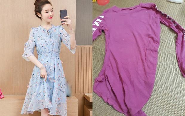 Tưởng mua online được chiếc váy hoa giá hời, mẹ trẻ sốc toàn tập từ đồ nhận được đến câu trả lời của người bán - Ảnh 2.