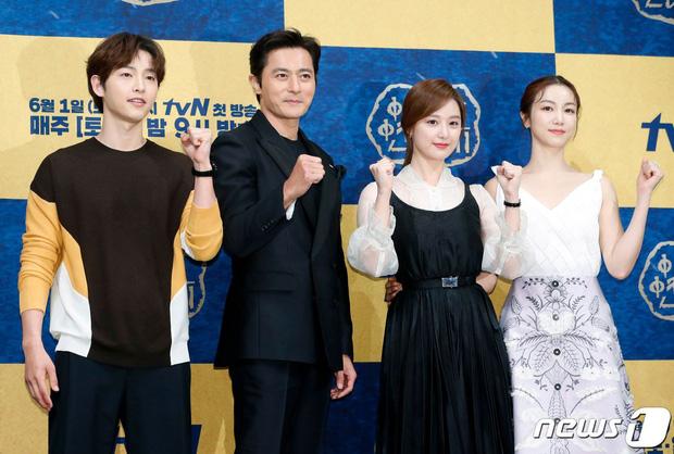 BXH diễn viên truyền hình Hàn tháng 6: Song Joong Ki không lọt top 20 vì lí do này - Ảnh 1.