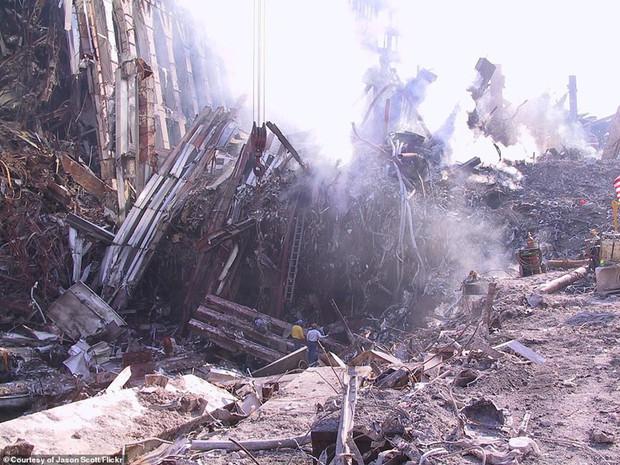 Cận cảnh quá trình xử lý hiện trường vụ khủng bố 11/9 - Ảnh 3.