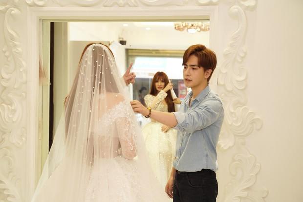 Thu Thủy cùng ông xã kém tuổi khoe khoảnh khắc ngọt ngào trong ngày thử váy cưới trước hôn lễ - Ảnh 6.