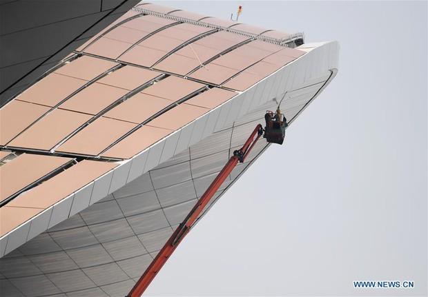 """Ná thở với sân bay """"sao biển"""" lớn nhất thế giới ở Trung Quốc, rộng bằng... 63 quảng trường Thiên An Môn, từ đầu nọ sang đầu kia dài cả cây số - Ảnh 15."""