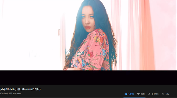 Thêm nữ nghệ sĩ solo nhập hội 100 triệu view YouTube sau HyunA, Taeyeon, IU, Jennie và người ấy là ai? - Ảnh 1.
