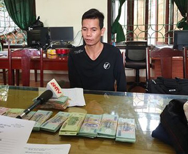 Kẻ cướp ngân hàng ở Phú Thọ đã bị tóm như thế nào? - Ảnh 1.