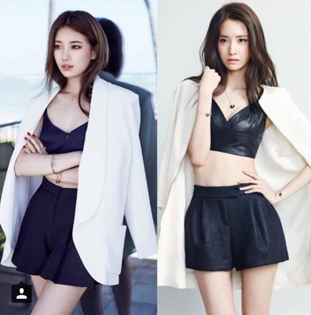 Khó khăn như giải đề toán chính là việc quyết định xem Suzy hay Yoona xuất sắc hơn khi đụng váy - Ảnh 4.