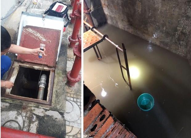 Nước sinh hoạt đục như nước cống bủa vây dân chung cư - Ảnh 4.